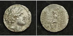 1 Tetradrachm Seleukidenreich (312BC-63 BC) Silber Alexander I Balas (150-145 BC)