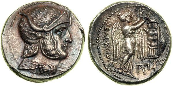 1 Tetradrachm Ancient Greece (1100BC-330) Silver Seleucus I Nicator (358BC-281BC)
