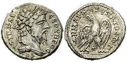 1 Tetradrachm Roman Empire (27BC-395) Silver Septimius Severus (145- 211)