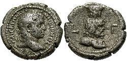 1 Tetradracma Imperio romano (27BC-395) Plata Heliogábalo (203-222)