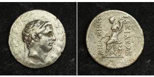 1 Tetradracma Imperio seléucida (312BC-63 BC) Plata Demetrius I Soter (185BC - 150BC)