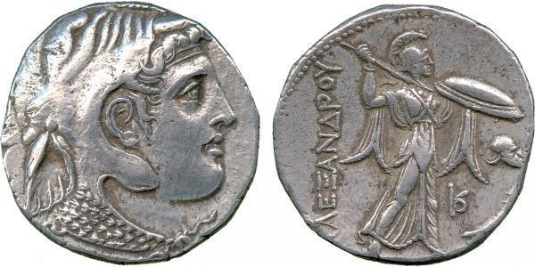 1 Tetradracma Período Helenístico (332BC-30BC) Plata