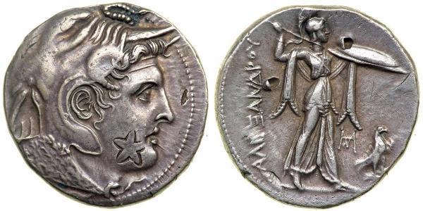 1 Tetradramma Ptolemaic Kingdom (332BC-30BC) Argento