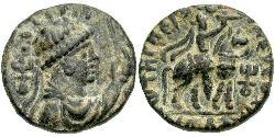 1 Tetradramma Impero Kusana (60-375) Bronzo Vima Takto