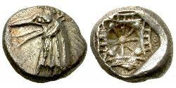 1 Tetrobol Ancient Greece (1100BC-330) Silver