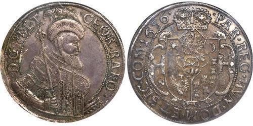 1 Thaler 外西凡尼亞公國 (鄂圖曼帝國) (1570 - 1711) 銀 György Rákóczi II,  prince of Transylvania (1621 -1660)