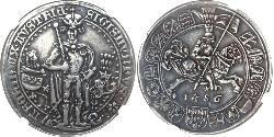 1 Thaler 奥地利历史 (1156 - 1806) 銀