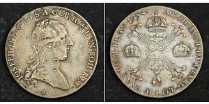1 Thaler 奧地利帝國 (1804 - 1867) 銀