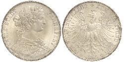 1 Thaler 德国 / 联邦州 (德国) 銀