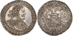 1 Thaler 神圣罗马帝国 (962 - 1806) 銀 斐迪南三世 (神圣罗马帝国) (1608-1657)