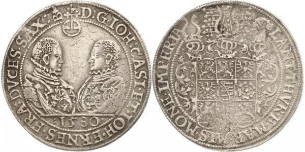 1 Thaler 萨克森王国 (1806 - 1918) 銀