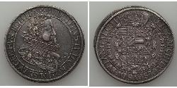1 Thaler 阿尔萨斯 銀 鲁道夫二世 (神圣罗马帝国) (1552 - 1612)