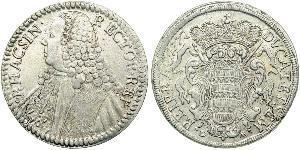 1 Thaler Dalmatia 銀
