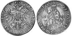 1 Thaler Free Imperial City of Aachen (1306 - 1801) 銀