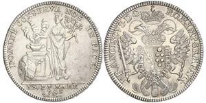 1 Thaler Free Imperial City of Nuremberg (1219 - 1806) 銀