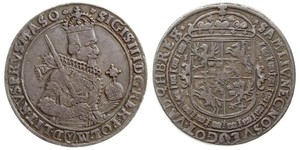 1 Thaler Polish-Lithuanian Commonwealth (1569-1795) 銀 Sigismund III of Poland