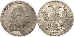 1 Thaler null 銀 弗里德里希·奥古斯特一世 (萨克森国王)