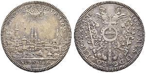 1 Thaler Free Imperial City of Nuremberg (1219 - 1806) Argent