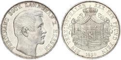 1 Thaler Grand-duché de Hesse (1806 - 1918) Argent Ferdinand de Hesse-Hombourg