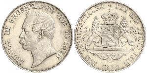 1 Thaler Grand-duché de Hesse (1806 - 1918) Argent