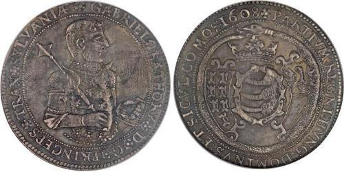1 Thaler Principality of Transylvania (1571-1711) Argent Gabriel Ier Báthory(1589 – 1613)