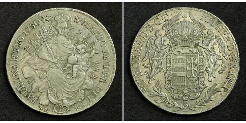 1 Thaler Royaume de Hongrie (1000-1918) Argent Maria Theresa of Austria (1717 - 1780)