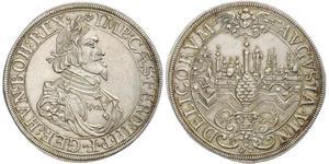 1 Thaler Augusta (Germania) (1276 - 1803) Argento Ferdinand III, Holy Roman Emperor (1608-1657)