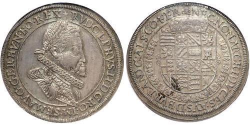 1 Thaler Austria Argento Rodolfo II del Sacro Romano Impero (1552 - 1612)