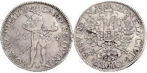 1 Thaler Francia medioevale (843-1791) Argento Carlo V del Sacro Romano Impero (1500-1558)