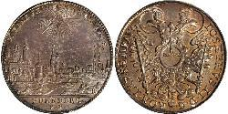 1 Thaler Free Imperial City of Nuremberg (1219 - 1806) Argento