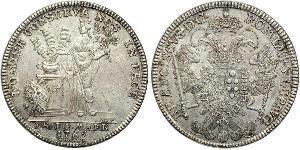 1 Thaler Free Imperial City of Nuremberg (1219 - 1806) Argento
