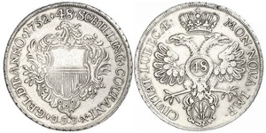 1 Thaler Germania Argento