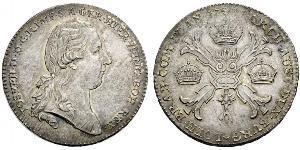 1 Thaler Impero austriaco (1804-1867) Argento