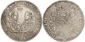 1 Thaler Regno di Sassonia (1806 - 1918) Argento