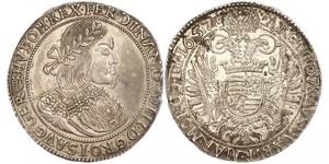 1 Thaler Sacro Romano Impero (962-1806) Argento Ferdinand III, Holy Roman Emperor (1608-1657)