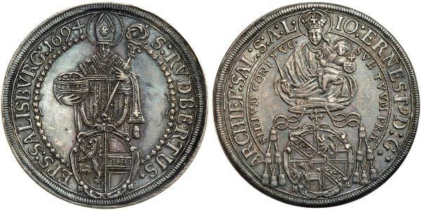 1 Thaler Sacro Romano Impero (962-1806) Argento