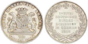 1 Thaler Stati federali della Germania / Brema (stato) Argento