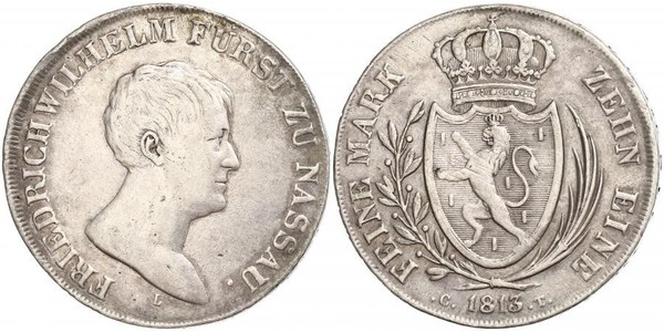1 Thaler Alemania Plata