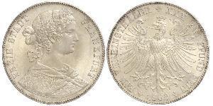 1 Thaler Alemania / States of Germany Plata