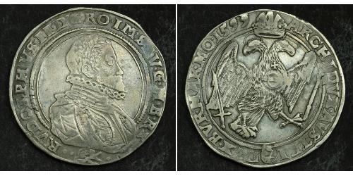 1 Thaler Bohemia Plata