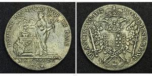1 Thaler Free Imperial City of Nuremberg (1219 - 1806) Plata