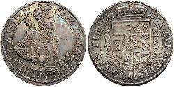 1 Thaler Habsburg Empire (1526-1804) Plata Fernando I de Habsburgo (1503-1564)
