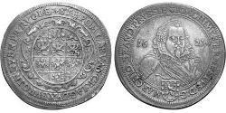 1 Thaler Principado de Ansbach (1398–1792) Plata Joachim Ernst, Margrave of Brandenburg-Ansbach (1583 – 1625)