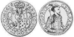 1 Thaler Principality of Transylvania (1571-1711) Plata