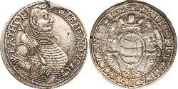 1 Thaler Principality of Transylvania (1571-1711) Plata Segismundo Báthory (1572 -1613)
