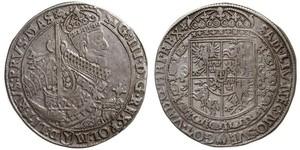 1 Thaler República de las Dos Naciones (1569-1795) Plata Sigismund III