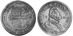 1 Thaler Sacro Imperio Romano (962-1806) Plata