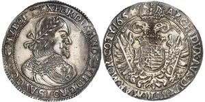 1 Thaler Sacro Imperio Romano (962-1806) Plata Ferdinand III, Holy Roman Emperor (1608-1657)