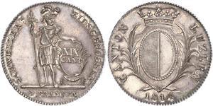 1 Thaler Suiza Plata