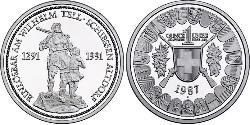 1 Thaler Switzerland Platinum